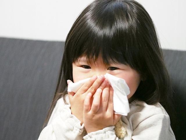 副鼻腔炎と子ども